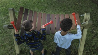 Akadinda är ett musikinstrument i Marimbasfamiljen.