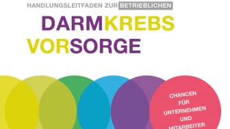 Cover: Handlungsleitfaden zur betrieblichen Darmkrebsvorsorge 2020