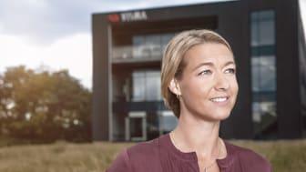 Administrerende direktør Monika Juul Henriksen hos Visma Enterprise er godt tilfreds med årets resultater.