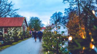 Sverige bugner af skønne og historiske julemarkeder. Foto: Klarkullen event