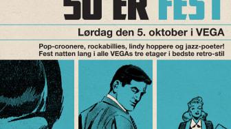 Fuldt program for VEGAs 50'er-fest er klar