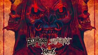 Den 9. marts 2022 saver Suffocation, Belphegor og Hate Lille VEGA midt over med deres tonstunge dødsmetal.