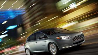 Ford starter produksjonen av europeisk elektrisk Focus.