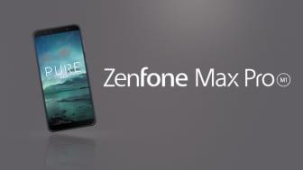 ASUS Zenfone Max Pro lanserad i Sverige - Pure Android med lång batteritid