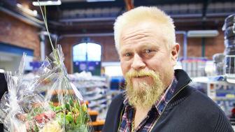 Stor guldklimp hittad i hylsnyckelsats - nyinköpt från DahlCenter i Västerås