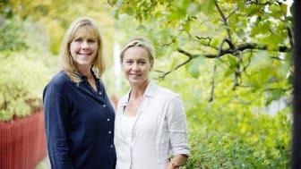 Bella Linde och Lena Granefelt. Foto: Anna Svanberg