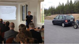 Elways visar framgångsrika tester på Arlandastad Holdings bana Test Track 2, Airport City Stockholm