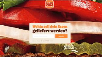 Als wichtiger Teil der Digitalisierungsstrategie hat Burger King® seine Website und App komplett neu eingerichtet
