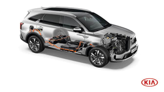 KIA afslører konstruktionen af den praktiske nye Sorento Plug-in Hybrid