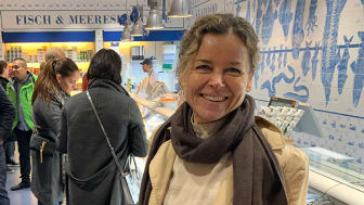Bilde: Gitte Hannemann Mollann, Sjømatrådets fiskeriutsending i Tyskland. Foto: Norges sjømatråd