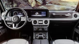 Mercedes-Benz offentliggør første interiørbilleder fra den ny G-Klasse