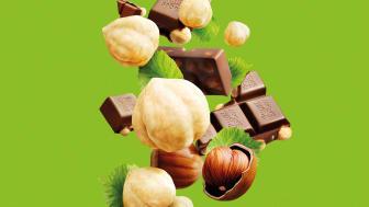 Ritter Sport finns i flera olika smakkombinationer och består av premiumchoklad