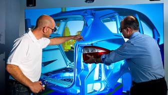 Ford utvecklar en virtuell fabrik för maximal effektivitet vid löpande band-produktion