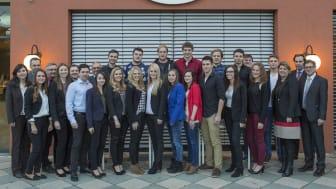 Freisprechungsfeier: Bayernwerk ehrt Auszubildende aus Regensburg für ihre Abschlüsse