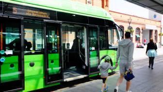 Ändrat busslinjenät för att locka ännu fler att åka