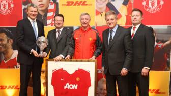 DHL indgår nyt integreret marketing og logistik partnerskab med Manchester United