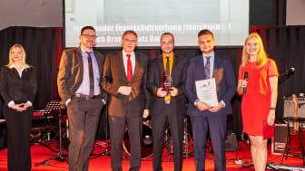 Preisverleihung 'Brandschutz des Jahres' 2017 - Gewinner Kategorie 'Baulicher Brandschutz'