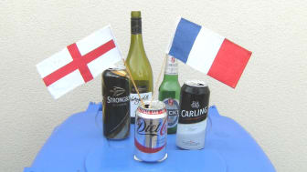 Say 'cheers' to recycling at the Euro footie finals
