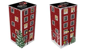 Kouvolan Lakritsin joulukalenteri noteerattiin pohjoismaisessa pakkauskilpailussa