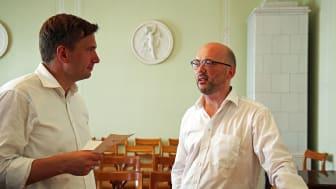 Mendelssohn-Haus - Martin Dulig im Gespräch mit Edwin Diele