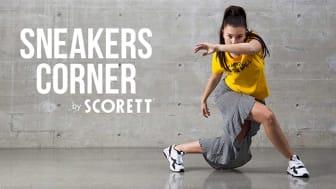 Scorettgruppen introducerar vårens sneakernyheter - med dans
