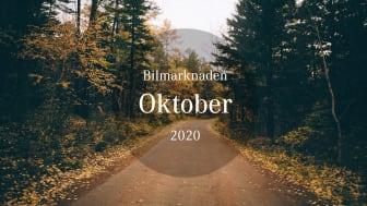 Bilmarknaden oktober 2020