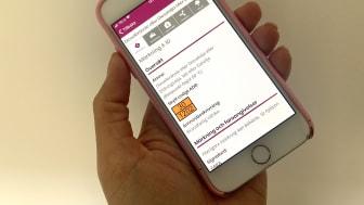 Nu släpper MSB en app som ska hjälpa blåljuspersonal att snabbt få information om ett farligt ämne.