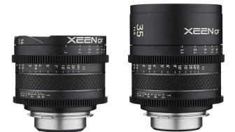 Das sind die zwei Neuen im XEEN CF Universum: 16 und 35 mm.