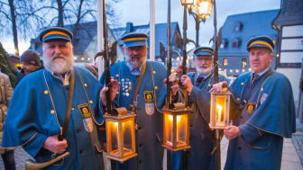 Zwönitzer Nachtwächter begleiten das Programm zur Lichtmess