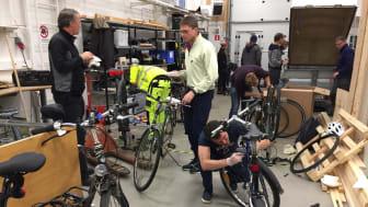 Our autumn 'CykelFixarDag' held yesterday