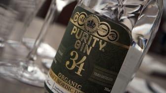 Purity Nordic Dry Gin, en ekologisk gin