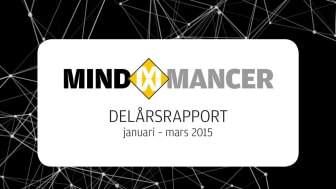Delårsrapport för Mindmancer AB (publ) Q1 2015