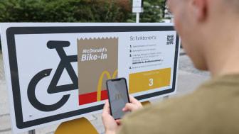 Bike-In - McDonald's Deutschland erfüllt Gästewunsch und eröffnet McDrive für Fahrradfahrer