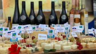 Käsevielfalt der KäseStraße SH begleitet von süddeutschen Weinen
