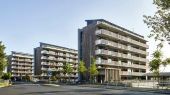 Brf Viva, Guldheden i Göteborg, med sammanlagt 132 bostadsrätter. Foto: Ulf Celander