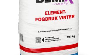 Nyhet – Bemix Elementfogbruk Vinter 2