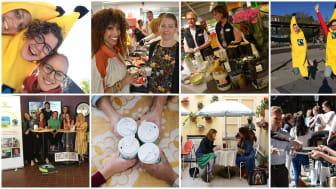 Engagemanget i Sverige var stort hos Fairtrades medlemsorganisationer, kommuner, arbetsplatser, skolor, hotell och restauranger som alla visat sitt engagemang för rättvisa globala arbets- och handelsvillkor. Foto: Fairtrade Sverige.
