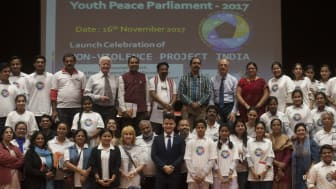 The Non-Violence Project Foundation opens India office.