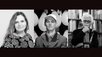 På bild från vänster: Maria Lantz, Bogdan Szyber, Lars O Ericsson