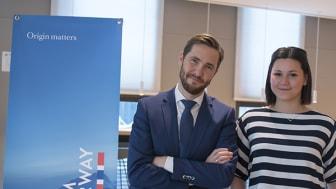 Gunvar L. Wie og Melissa Gotliebsen