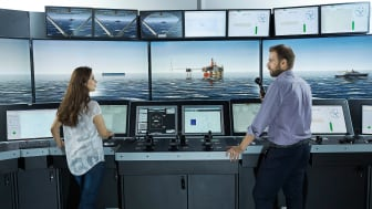 KONGSBERG's delivery will include a full mission state-of-the-art K-Sim ship's bridge simulator