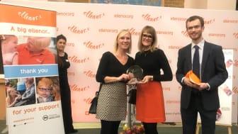 Broadditch Farm Shop won the 'Most Raised Award'.