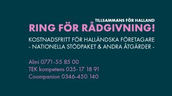 Tillsammans för Halland är Region Hallands sajt för stöd till företag i coronatider