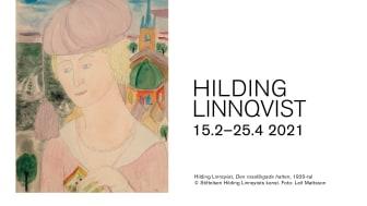 Vårens utställning på Nordiska Akvarellmuseet: Hilding Linnqvist