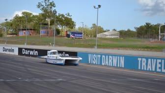 Testkörning i Darwin