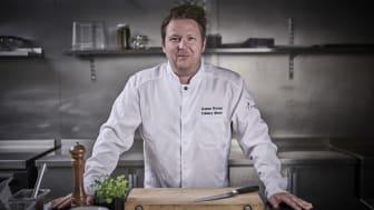 Gunnar Hvarnes blir ny Culinary Director i Compass Group Norge AS. FOTO: Tom Haga.