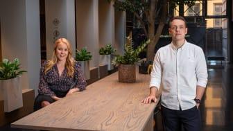 Andreas Aichberger blir markedssjef og ansvarlig for Ö Oslo, og Anne Olsen ansettes som kreativ leder i Höegh Eiendom.