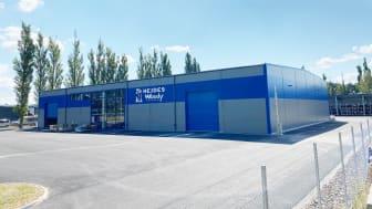 Hejdes nya anläggning i Kävlinge öppnar idag den 16:e augusti.
