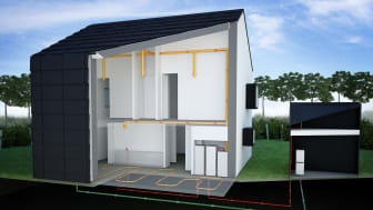 Illustration över energi- och tekniksystem