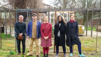 De professionella konstnärer som arbetar i projektet är Jafer Taoun, Richard Johansson, Mette Björnberg, Lena Ignestam och Carina Zunino